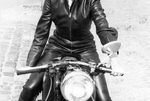 Womens + Motorcycles.