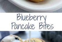 Blue berry bites / Small balls
