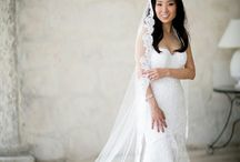 Veil Or No Veil?! / Absolutely go with a vail on your big day!