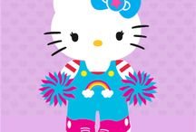 Share Your Hello Kitty Avatar / Did you know that you can visit the Hello Kitty page on Walmart.com to create your own Hello Kitty avatar?  Then play dress up by selecting the outfit, bow, extra, adds-on and shoes of your choice. When you're done, you can email or print your Hello Kitty avatar. / by Margie Brill