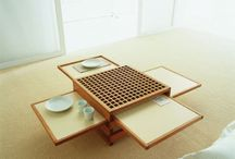 Faműves bútorok, használati tárgyak / Kaminak
