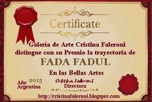FADA FADUL / Pinturas em tela