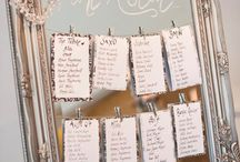 Jon & Grace Wedding / Table Plan Ideas etc.