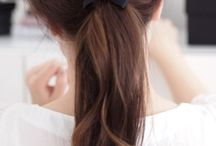gorgeous hair / lovely hair cuts, color and do's / by One Hungry Mama