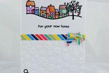 Handpainted cards