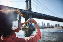 JBL Wireless Headphones / Wirelessly stream your music through these JBL Bluetooth enabled devices.