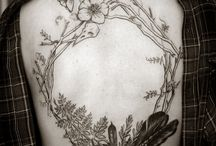 Tattoo Inspiration / Mostly nature-related tattoo inspiration, tattoos and drawings.