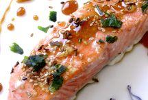Recettes poisson / Pavé de saumon caramélisé
