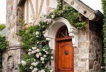 domy v zahradě / zahradní architektura