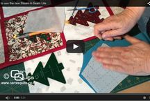 Carols Quilts Quilting Videos / Instructional videos for how to use the quilting templates and other things quilting.