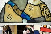 """Things to do in Chicago:  Stained Glass Classes in Chicago /  Stained Glass   Baltic Art Studios is pleased to announce its first Beginning Stained Glass series. This four session program will be held on 4 Saturdays  from 10AM to 3PM (one hour break for lunch).  You will make a beautiful 12"""" x 12"""" stained glass window, based on your choice of design options. The classes will cover: Session #1 - Introduction - Project drafting- Cutting patterns. Session #2 - Glass cutting. Session #3 - Assem"""