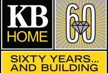 60 Years and Building / It's our birthday! We're celebrating #60yrsandbuilding throughout the year with historical throwbacks, homebuilding milestones and community outreach.