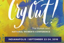 True Woman '16: Cry Out! / We're believing God for a historic gathering of women to join together and cry out for such a time as this at True Woman '16. Will you join us? | September 22 - 24 • Indianapolis  / by Revive Our Hearts