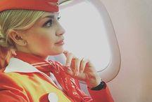 Women in Aviation (Air Hostess)