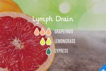 essential oils for lymph drainage