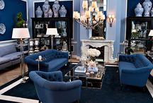 Living room / Obývací pokoje / vybavení, osvětlení, design obývacích pokojů