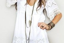 Lace & white / Fashion