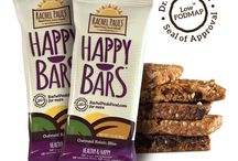 Happy Bars | Low-FODMAP Energy Bars / Happy Bars are delicious low-FODMAP energy bars. Enjoy all 5 delectable flavors!