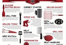 Infographics / Bbq and grill related infographics