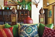 Africký interiér