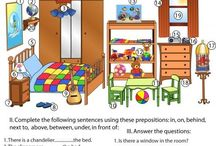 house, flat, prepositions of place