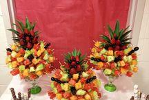 Frukt dikorasjon