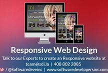 Responsive Design / SDI's Responsive Web designers have built hundreds of responsive websites for our clients ensuring users have a seamless experience regardless of their device.