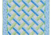 Suzanne / Patchwork baby quilts