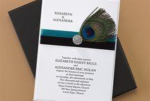 Peacock Themed Wedding Ideas / Ideas for a Peacock Inspired Wedding
