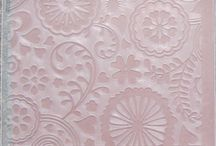 Embossing folders and ideas / by Nancy Hunt