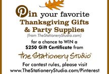 The Stationery Studio Thanksgiving Contest / by Amy Greene