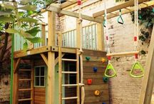 Kids wooden houses