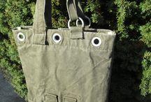 Taschen aus Seesäcken