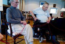 Vanhustyön Keskusliiton Ystäväpiiri-toimintaa Foibessa 2015