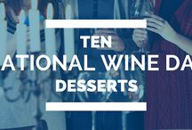 National Wine Day Desserts / Celebrate National Wine Day with these delicious desserts. Recipes, baking tips and more - all using wine as one of the yummy ingredients. YUM!