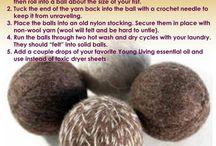 wool dryerballs
