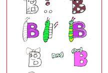 A B C D...