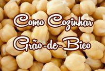GRÃO-DE-BICO COZINHAR