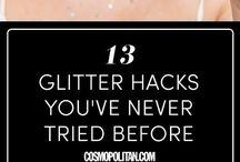 gliter make-up