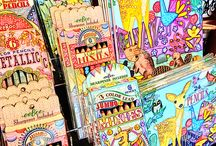Arts and Crafts at Jacque's / Great Coloring Books and art pencils now available at Jacque Michelle's. Journaling is fun and coloring can be a form of therapy.