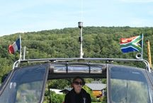 Barging in France / Cruising on the French inland waterways aboard our Dutch Steel Motor Cruiser - Shangri La