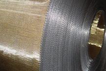 Tele per Cambiafiltri Automatici / FC: speciale Tela Metallica ad alta resistenza meccanica utilizzata all'interno di estruzori per la rigenerazione di plastica proveniente da recupero. - http://m.ttmrossi.it