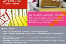 Habitat Pin to Win / Kids Bedroom Makeover