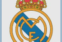 Escudos de Fútbol / Gráficos de escudos de fútbol para punto de cruz.