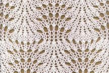 Knitting lace