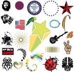 Free Vector Collections / Free vector packs for graphic designers.