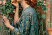 Pre-Raphaelite: oils on canvas / Pre-Raphaelite paintings from the brotherhood and those who followed