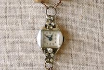 Time and Time again / Unusual jewelry made from vintage watches
