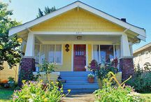 Craftsman Bungalow reference images / Arts-and-Crafts / Craftsman / Mission era (early C20th) exteriors, interiors and decorative arts, reproductions, and contemporary designs that fit the same philosophy