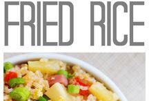 Stekt ris / Mat